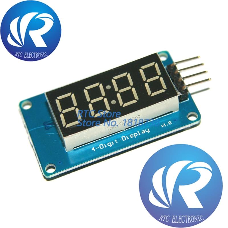 "0.56/"" Inch 4-Bits Digital LED TM1637 7Segment Clock Tube Display For Arduino I0"