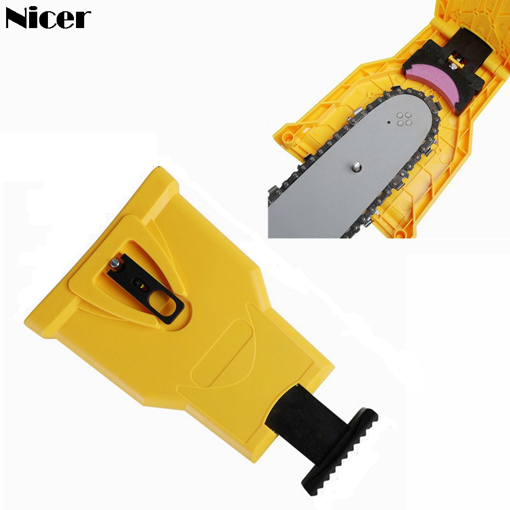 Chainsaw Teeth Sharpener Portable…