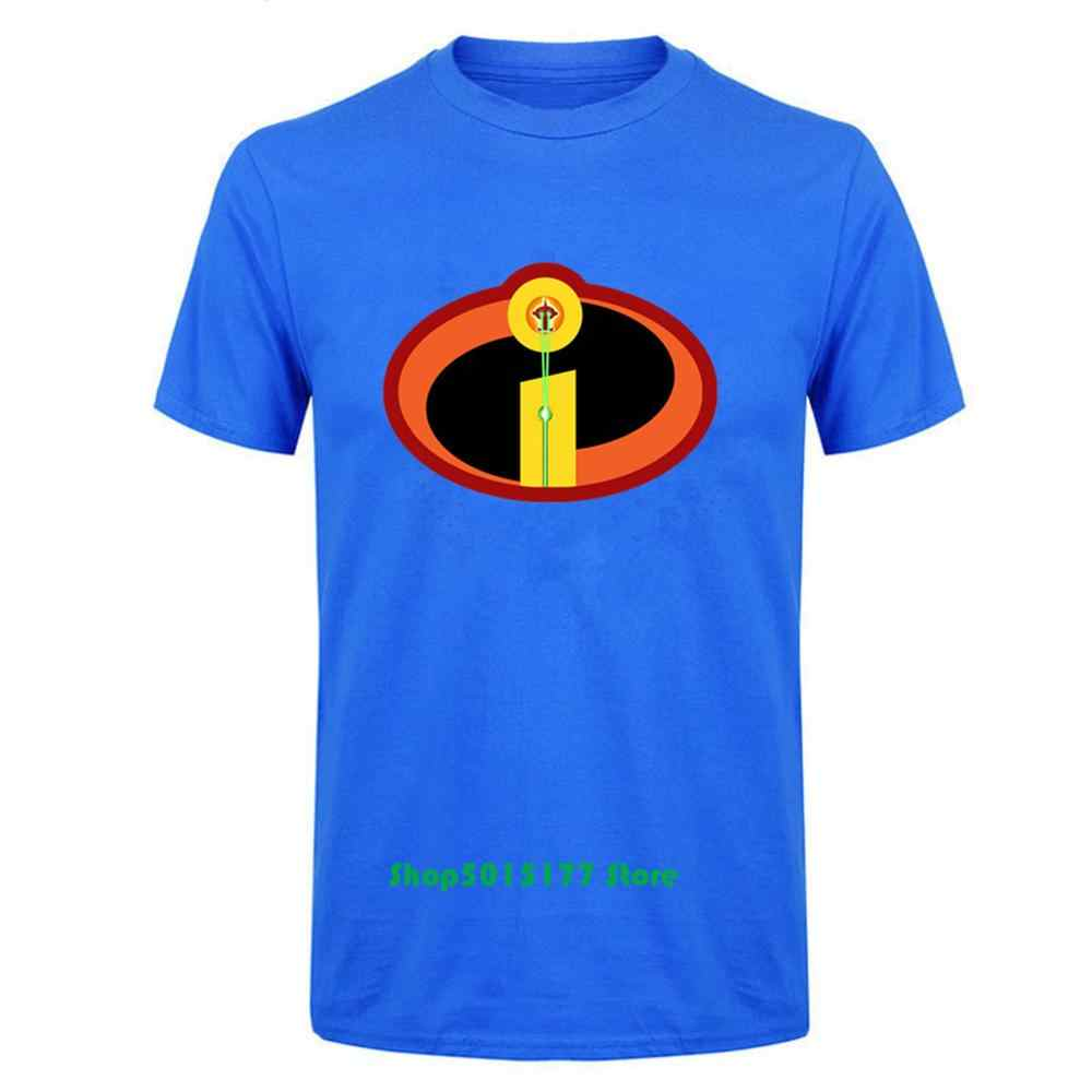 New Design The Incredibles Symbol Youth Men T-Shirt The Incredibles Incredible Jack Jack Logo T-Shirt Short Sleeved Cotton Cloth
