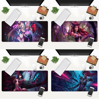 Your Own Mats dragon sorceress zyra Beautiful Anime Mouse Mat Gaming Mouse Pad Large Deak Mat 700x300mm for overwatch/cs go