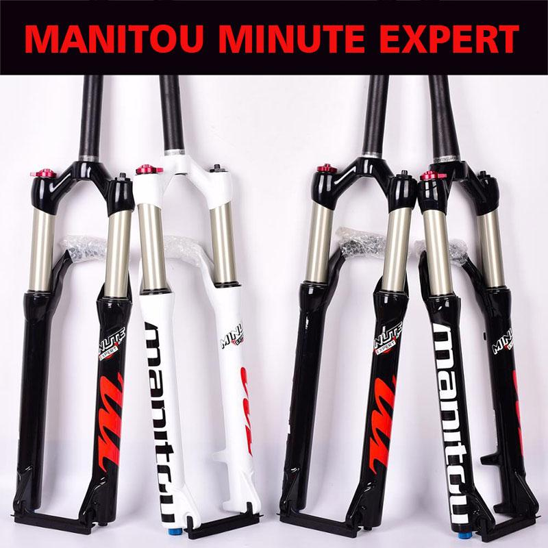 Details about  /Manitou Minute Pro MTB Air Fork 26 27.5 100mm 1//8-1//5 tapered