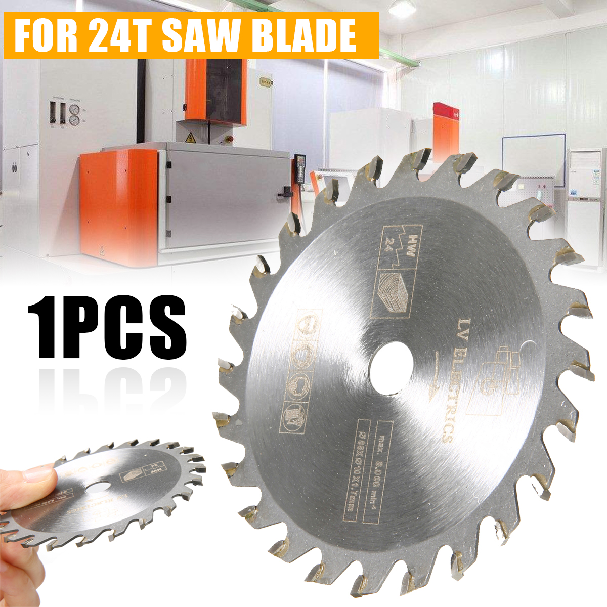 85mm 24T Circular Saw Blade High Quality Mini Wood Cutting Blade Carbide Tipped Cutting Disc  For Marble Granite General Wood