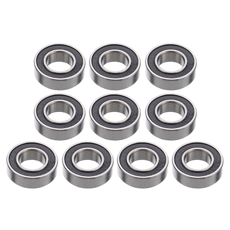 10Pcs <font><b>688</b></font>-<font><b>2RS</b></font> <font><b>688</b></font> RS Miniature <font><b>Bearings</b></font> Set 8x16x5mm Rubber Sealed Ball <font><b>Bearing</b></font> For CNC Tool Parts image