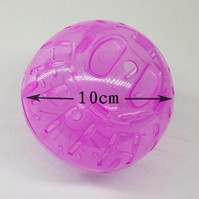 Plastic Pet Rodent Mice Jogging Ball Toy Hamster Gerbil Rat Exercise  6
