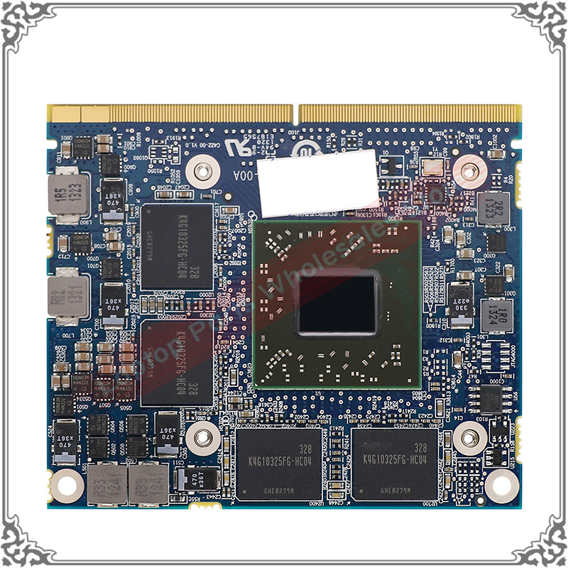 Original New 216-0834044 Graphic Card For DELL M4000 M4600 M4700 M4800 Display Video Card GPU Replacement Tested Working