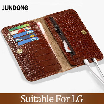 for LG V30 V40 V50 ThinQ G6 G7 Q6 Q7 K11 K4 K8 K10 2018 Srylor 3 4 Case Crocodile Texture Cover Cowhide Phone Bag Wallet
