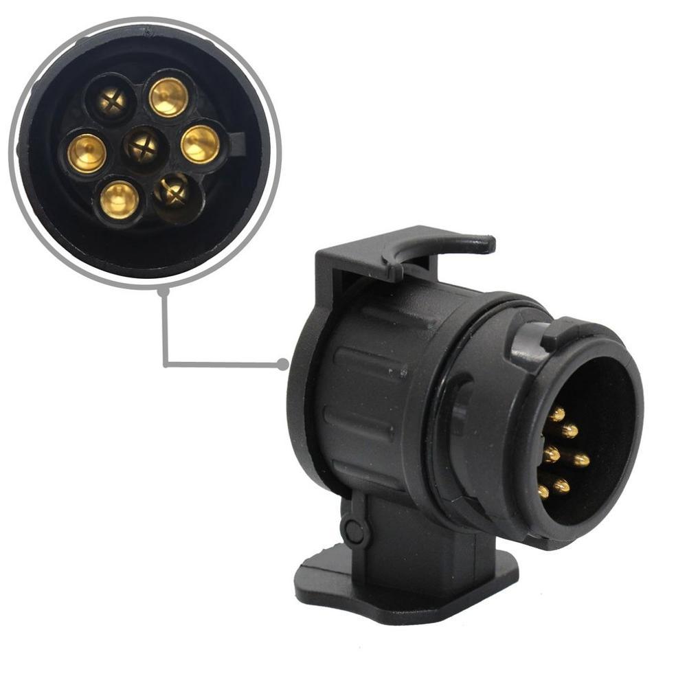 Remolque Electrics 7 Pin 12n /& 12s Plástico Tapones /& Cubre Para Remolque Para Coche Caravana