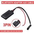 3-контактный автомобильный bluetooth-модуль для BMW BM54 E39 E46 E38 E53 X5  AUX аудио Радио адаптер  автомобильные электронные аксессуары