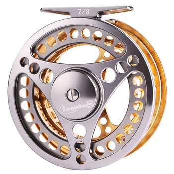 nunatak carbon fiber reed combo bar 9 feet and fly fishing aluminum reel 7 8 and 2 7 m rod reel fly line fly box lure Sougayilang Fly Fishing Reel 5/6 7/8 WT CNC Machined Aluminium   Alloy Body Micro Adjusting Drag Large Arbor Left/Right Fly Reel