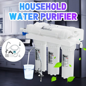3+2 Ultrafiltration Drinking Water Filter System Home Kitchen Water Purifier Filter With Faucet Tap Water Filter Cartridge Kits