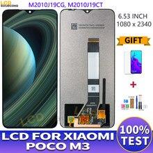 Pantalla lcd Original de 6,53 pulgadas para Xiaomi Poco M3 MONTAJE DE Digitalizador de Panel táctil para Pocophone M3, reemplazo de pantalla M2010J19CG
