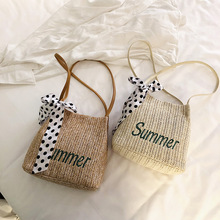 Bag Women Handbag Messenger Bag Straw Bags Summer 2019 Women Crossbody Bags for Women Beach Bag straw cotton rope beach bag summer crossbody bags for women 2019 handmade brand shoulder messenger shopping bag women bag