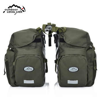 Bicycle Bag Mountain Road Saddle Cycling Bags MTB Rear Double Side Rack Tail Seat Pannier Pack Bike Accessories Rain Cover XA37D - DISCOUNT ITEM  40% OFF All Category