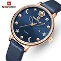 Часы naviforce женские роскошные брендовые Модные кварцевые женские часы водонепроницаемые наручные часы простые часы для девочек Relogio Feminino