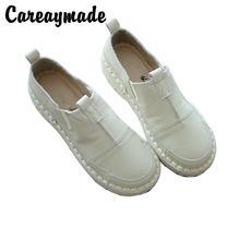 Удобные туфли careaymade из натуральной кожи на мягкой подошве