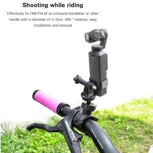 Image 3 - Kamera bisiklet montaj aksamı bisiklet motosiklet braketi tutucu FIMI palmiye eylem kamera standı çerçeve klip GoPro kamera için