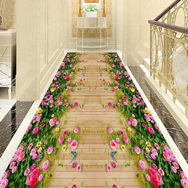 Длинный ковер в коридор гостиная домашний лестничный ковер крыло отеля ковры декоративные ковер при входе/коврик для прихожей детская комната Спальня Ковер - Цвет: Z81