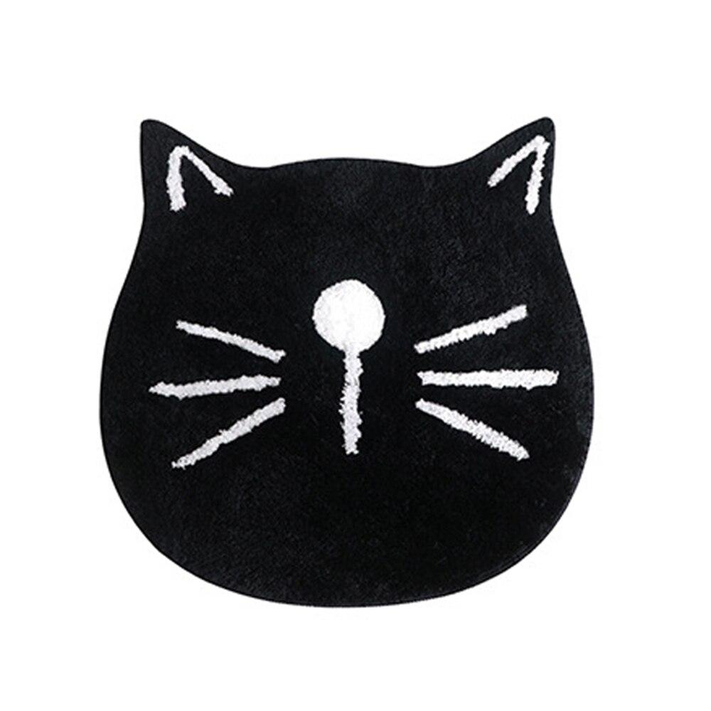 Cat face rug