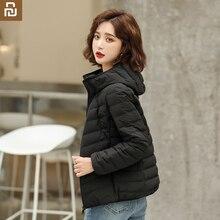 Jacket Short Anti-Drill Youpin Xiaomi Lightweight Straight Women's Hooded Down Seamless