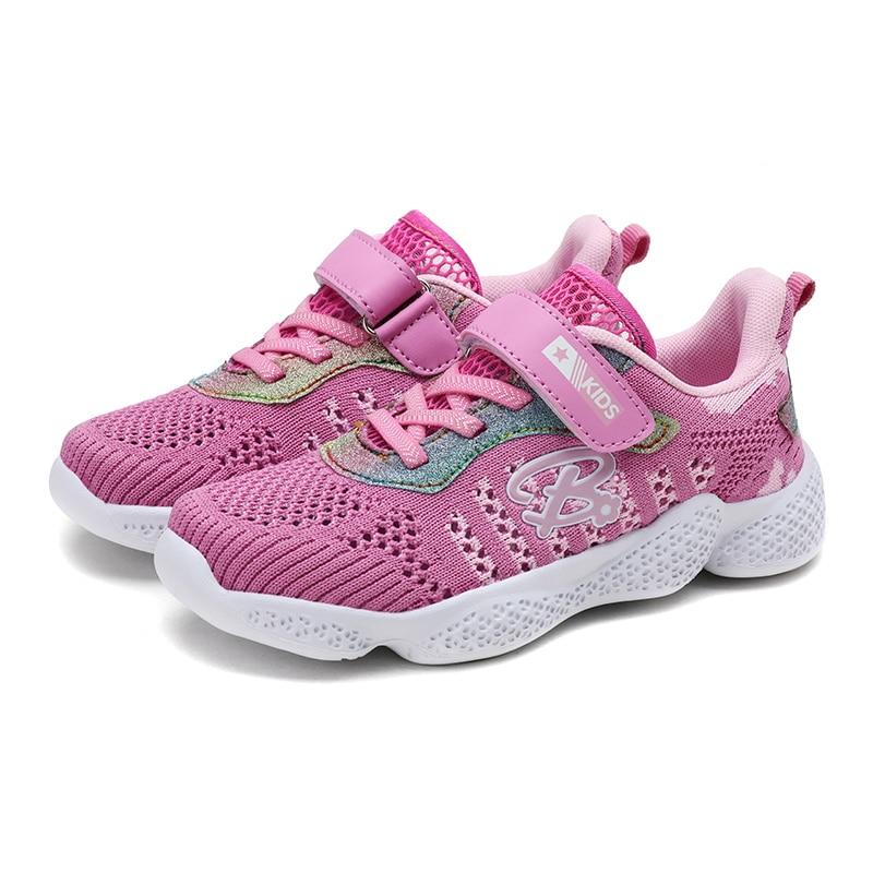 ULKNN Girls Sports Shoes Wild Big Children Autumn Boy Soft Bottom Breathable Children's Shoes Kids Casual Shoes BOYS Sneakers