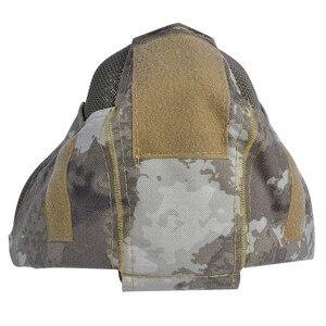 Image 4 - Outdoor Airsoft Masker Beschermende Full Gezicht Hekwerk Stalen Gaas Masker
