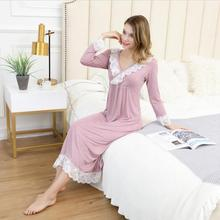 Sleepwear Sexy Nighties For Women Cotton Princess Sleeping Dress Nightgown Homew