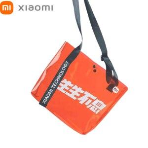 Image 1 - Xiaomi Mi Shoulder Bags Women Men Fashion Backpack Xaomi Multifunctional Sports Leisure Waist Chest Bag Xiomi Travel Outdoor NEW