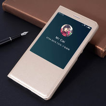 Leather Magnetic Smart View Cover Flip Case For Xiaomi Mi Max 1 2 3 Mimax Pro Mimax2 Mimax3 Max2 Max3 Xiomi Xaomi Phone Case(China)