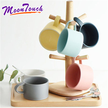 Creative Nordic marca dragon small 180 ml coffee cup combination matte Japanese contracted colour mugs