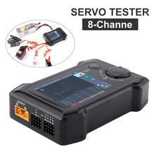 ToolkitRC ST8 2.4 TFT 7-28V 8-Channel Servo Integrated Tester 4 Independent Interface Signal Test