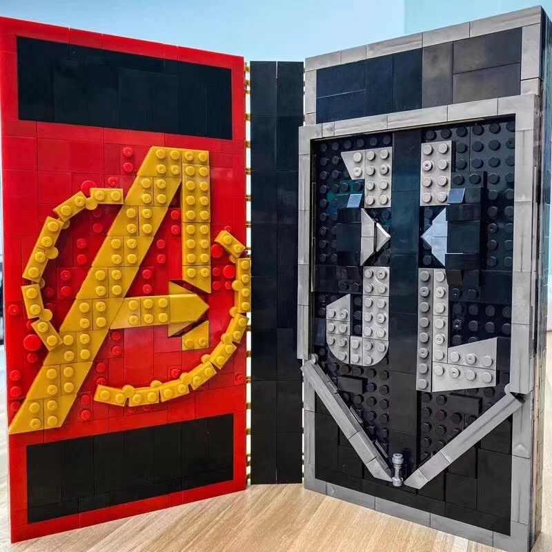 Iron Man Spiderman BATMAN ตัวเลขหมากรุกตุ๊กตาหนังสือ Lepining Blocks ใช้งานร่วมกับ Superhero Marvel Avengers RC ของเล่น