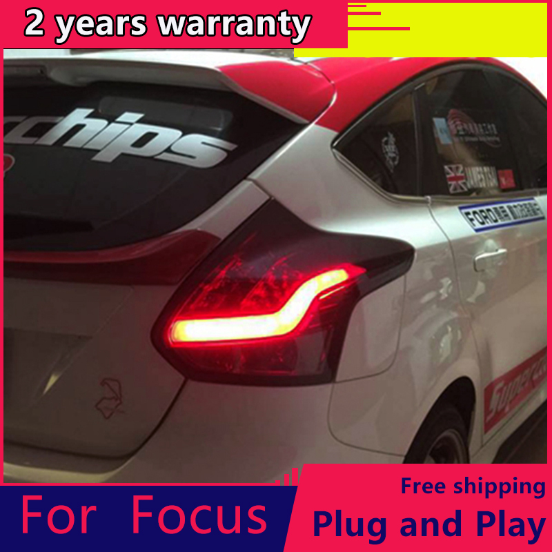 KOWELL Car Styling for <font><b>Ford</b></font> <font><b>focus</b></font> 2 2012-2014 LED <font><b>taillights</b></font> rear lights parking For <font><b>Ford</b></font> <font><b>Focus</b></font> foglights car styling image
