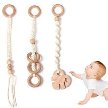 Play-Toys Pendant Wood for Car-Bed Kids Room-Decoration Gift Crochet Gym-Frame Hanging
