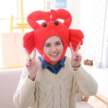 Popular Girls Sheep Frog Crabs Headband Plush Rabbit Ears Hoops Colorful Bunny Ears Headdress Gifts For Woman Photographic Tools