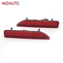 1 Pair Led Rear Bumper Reflector light For Honda CRV 2008 2007 2009 Tail Stop Brake Lights Rear turn signal Fog lamp