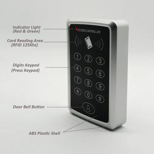 Image 2 - 125Khz Rfid Access Control System Keypad Card Door Lock Access Controller
