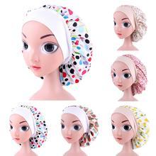 Hat Beanies-Skullies Head-Cover Hair-Care-Bonnet Hair-Loss-Cap Printed Girl Cotton Kids