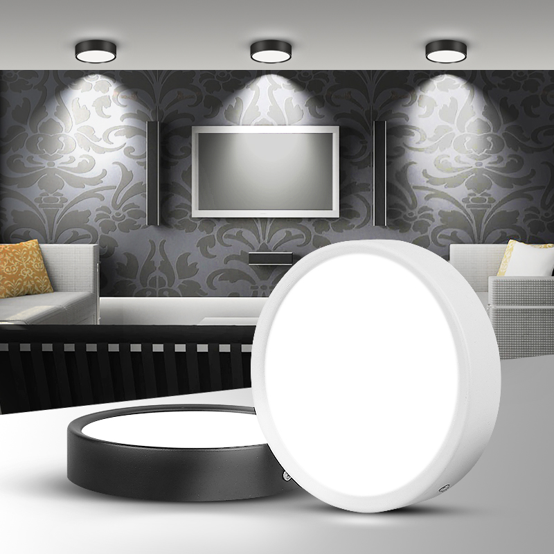 5W//10W//20W LED Wall Ceiling Light Surfaced Mounted Picture Lamp Fixture Macaron
