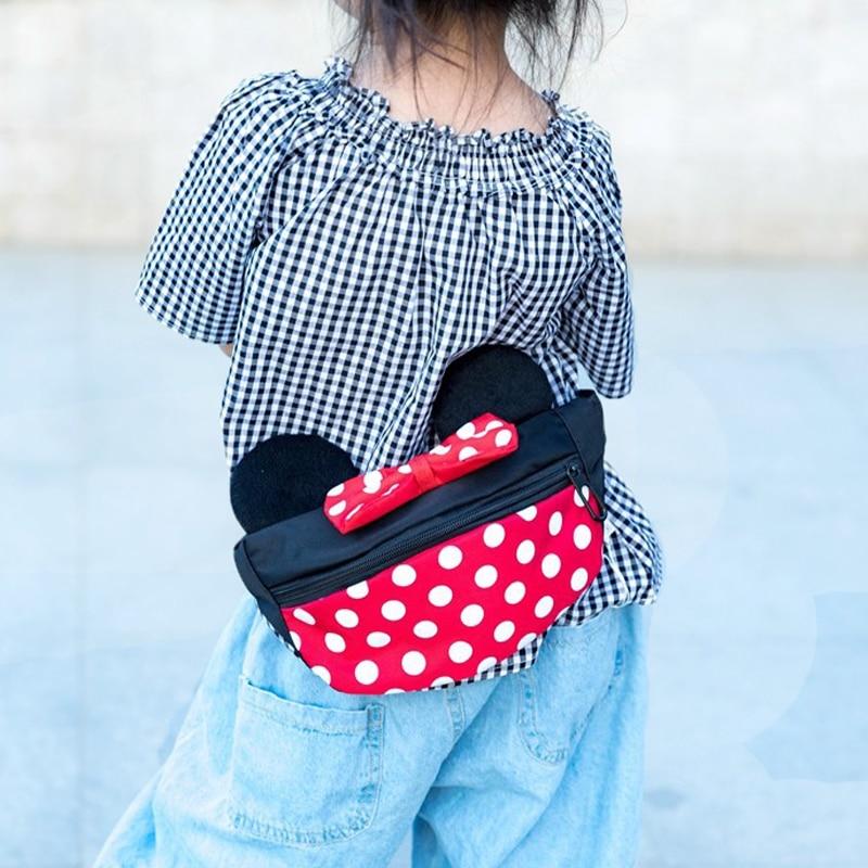 Child Cartoon Waist Bag Children's Fanny Pack Storage Space Fashion Girl Crossbody Waist Bags Gift Kids Waterproof Pocket G156