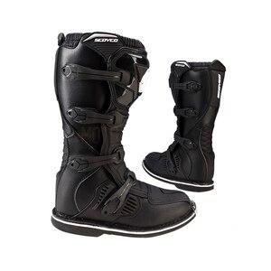 Image 2 - SCOYCO Moto rcycle buty wodoodporne moto buty bota moto krzyż antypoślizgowa odporność na upadek wyścigi boot profesjonalne moto rboats