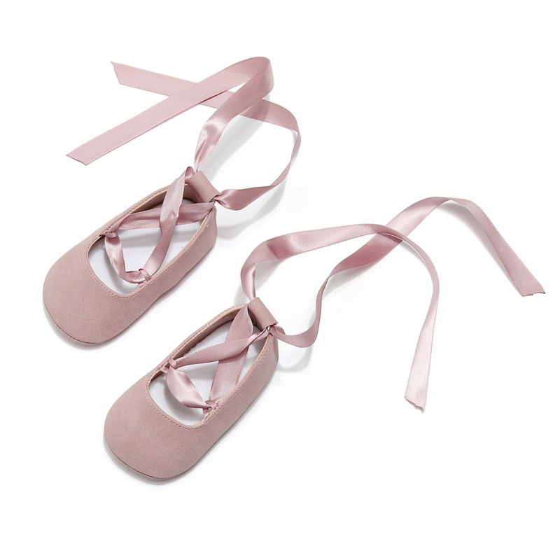 Baby Girl Shoes  Bow Lace Up PU Leather Princess Baby Shoes First Walkers Newborn Shoes For Girls