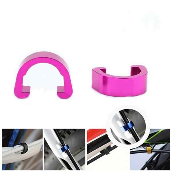 5Pcs MTB Bike Bicycle Frame U Buckle C-clips for Brake Cable Hose Housing