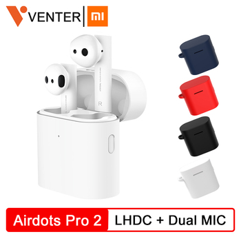 New Xiaomi Airdots Pro 1 2 Mi TWS Earbuds True Wireless Earphone Bluetooch 5.0 Air 2 LHDC HD Sound Quality Dual MIC ENC