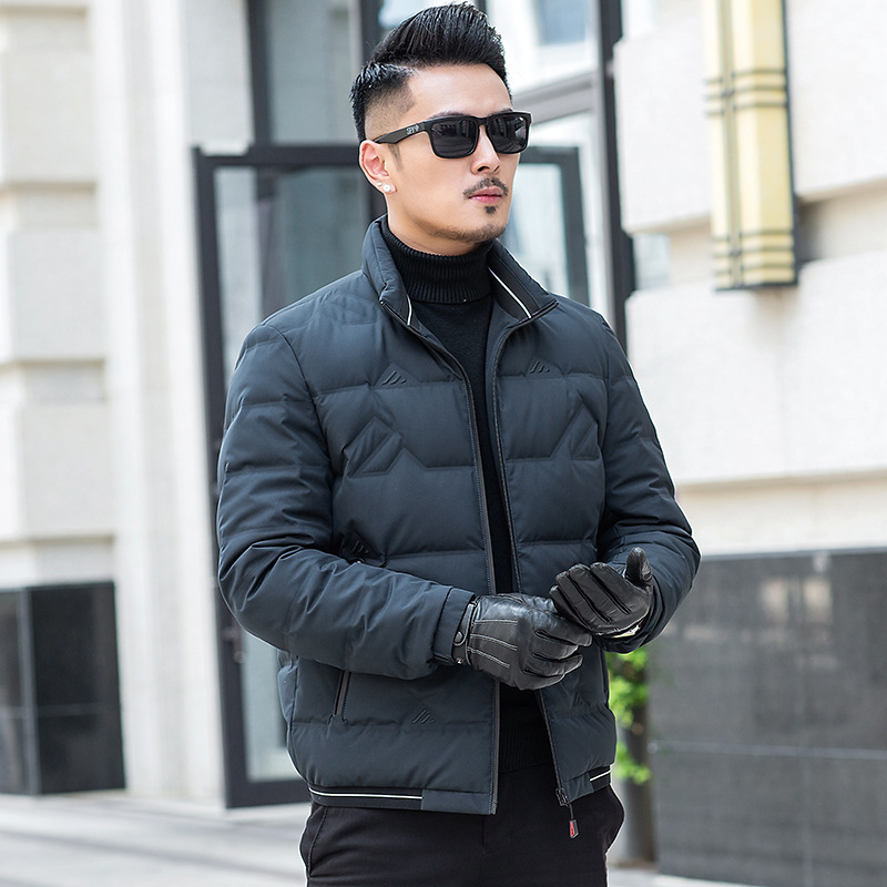 White Duck Down Jacket Men 2020 Korean Winter Coat Men Puffer Jacket Men Down Coat Warm Parka Abrigo 19020 YY1462