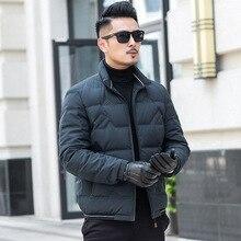 White Duck Down Jacket Men 2020 Korean Winter Coat Men Puffe