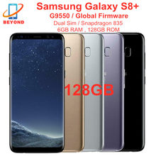 Samsung – smartphone Galaxy S8 + S8 Plus G9550, téléphone portable, 128 go de ROM, 6 go de RAM, double Sim, Octa Core, écran de 6.2 pouces, Snapdragon 835, NFC, Original, débloqué