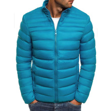 Winter Cotton-padded Mens Casual Clothing Large Jacket Jackets and Coats