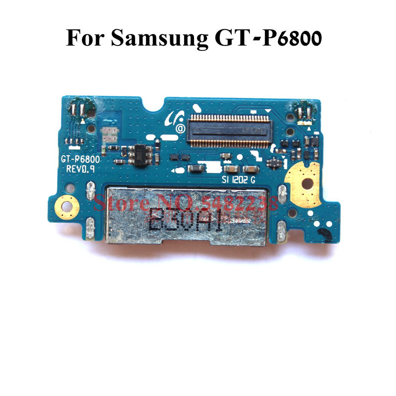 Original USB Charging Dock Port Flex Cable For Samsung P6800 GT-P6800 Charger Plug Board Connector Replacement Parts