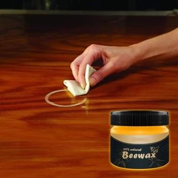 Naturalny czysty wosk do czyszczenia drewna wosk pszczeli rozwiązanie drewno przyprawa wosk pszczeli kompletne rozwiązanie meble pielęgnacja wosk pszczeli sprzątanie domu tanie i dobre opinie CN (pochodzenie) Inne