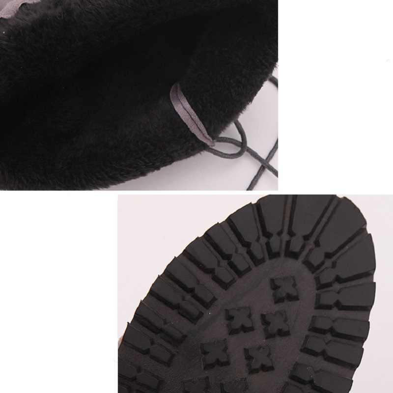 2019 Mince Cuisse Haute Bottes cuissardes Bottes à hauteur du genou Bottes Femmes Chaussures D'hiver Chaud Femmes Bottes grande taille 43 Botas Mujer